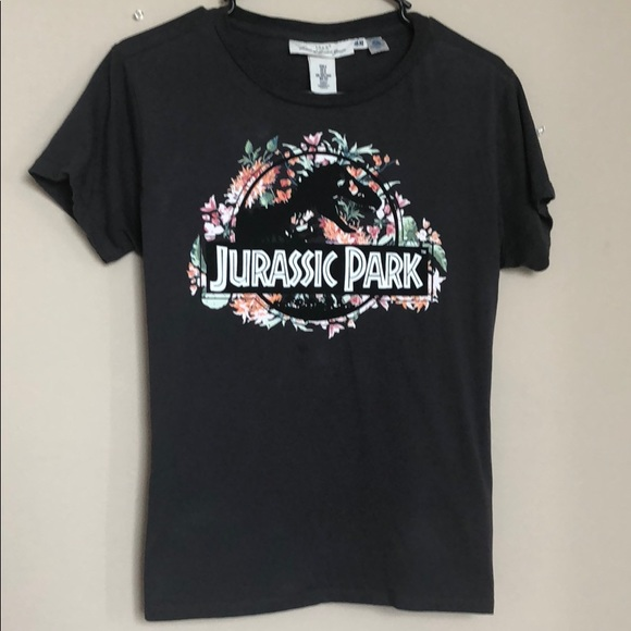 H M Tops Slightly Used Jurassic Park Tshirt Poshmark